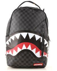 """Sprayground Rucksack """"black Checkered Shark In Paris"""" für Herren"""