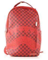 Sprayground Red Todd Gurley Backpack for men