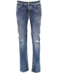 Denim Jeans In Saldo di Jacob Cohen in Blue da Uomo