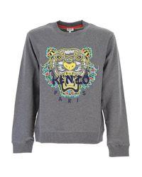 c4377d756 Lyst - KENZO Sweatshirt For Men in Gray for Men