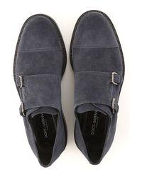 Dolce & Gabbana Black Shoes For Men for men