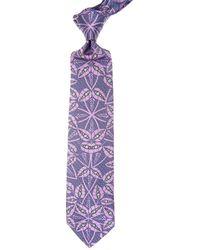 Corbatas Baratos en Rebajas Christian Lacroix de hombre de color Purple