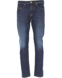 Denim Jeans In Outlet di DIESEL in Blue da Uomo