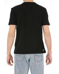 T-shirt Homme Pas cher en Soldes Lacoste pour homme en coloris Black