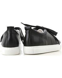 Sneaker Femme Pas cher en Soldes Outlet Lanvin en coloris Black