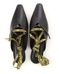 Off-White c/o Virgil Abloh Black Shoes For Women