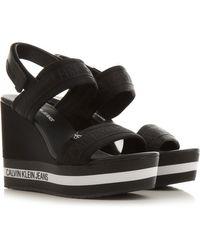 Calvin Klein Black Sandalen für Damen