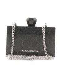 Pochette Femme Pas cher en Soldes Karl Lagerfeld en coloris Black