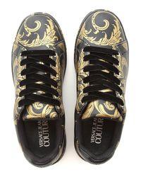 Sneaker Femme Pas cher en Soldes Versace Jeans en coloris Black