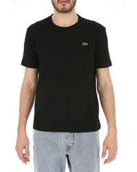 Camiseta de Hombre Baratos en Rebajas Lacoste de hombre de color Black