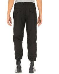 Pantalon Homme Moncler pour homme en coloris Black