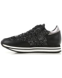 Philippe Model Black Sneakers For Women On Sale In Outlet