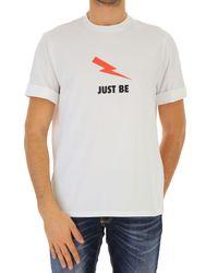 T-Shirt Uomo In Saldo di Neil Barrett in White da Uomo