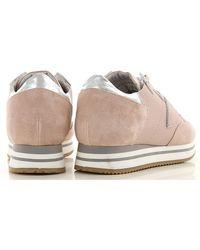 Sneaker Femme Pas cher en Soldes Outlet Philippe Model en coloris Pink