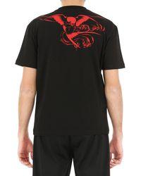 T-Shirt Uomo In Outlet di McQ Alexander McQueen in Black da Uomo