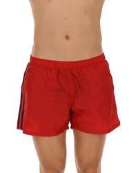 Swim Shorts Trunks for Men In Outlet di Antony Morato in Red da Uomo