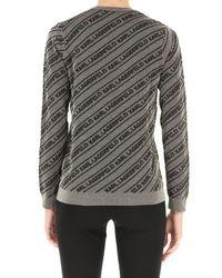 Maglione Donna di Karl Lagerfeld in Gray