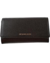 Michael Kors Black Wallets For Women