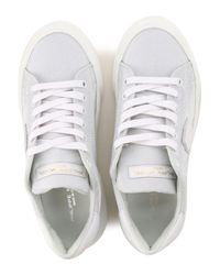 Philippe Model Metallic Sneaker für Damen