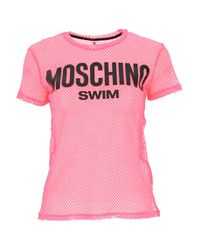 Top for Women In Outlet di Moschino in Pink