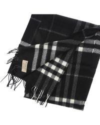 Sciarpa Foulard Donna In Saldo di Burberry in Black