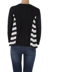 Giorgio Armani - Blue Sweater For Women Jumper On Sale - Lyst