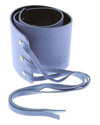 Twin Set Blue Belt For Women On Sale