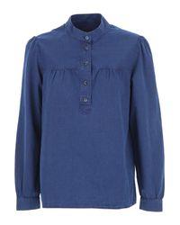 Camicia Donna di A.P.C. in Blue