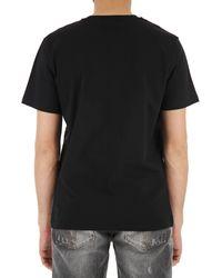 T-shirt Homme Pas cher en Soldes Moschino pour homme en coloris Black