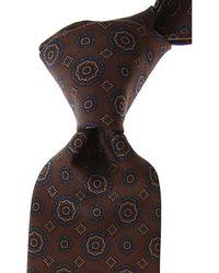 Cravates Pas cher en Soldes Brioni pour homme en coloris Brown