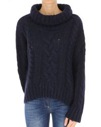 Woolrich - Blue Clothing For Women - Lyst