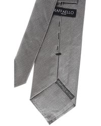 Cravates Pas cher en Soldes RAFFAELLO pour homme en coloris Gray