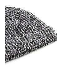 Rag & Bone Black Roscoe Beanie for men