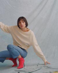 Rag & Bone Multicolor The Raglan Sweatshirt