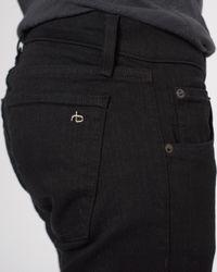 Rag & Bone - Black Fit 1 Jean for Men - Lyst