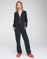Rag & Bone - Black Ingrid Jumpsuit - Lyst