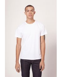 Rag & Bone | White Standard Issue Base Tee for Men | Lyst