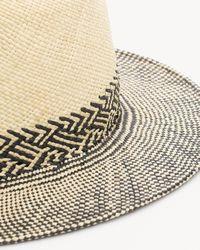 Rag & Bone - Multicolor Panama Hat - Lyst