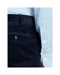 Polo Ralph Lauren - Blue Stretch Slim-fit Corduroy Pant for Men - Lyst