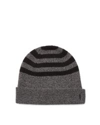 Polo Ralph Lauren | Black Rib-knit Wool-cashmere Hat for Men | Lyst