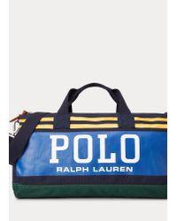 Sac de voyage Polo en toile Polo Ralph Lauren pour homme en coloris Blue