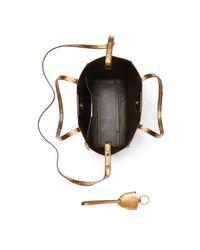 Ralph Lauren - Metallic Mini Modern Tote - Lyst