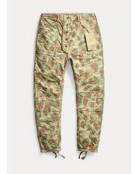 Pantalon réversible RRL pour homme en coloris Multicolor