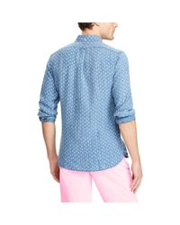 Polo Ralph Lauren - Blue Classic Fit Sailboat Shirt for Men - Lyst