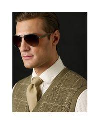 Ralph Lauren | Brown Safari Pilot Sunglasses for Men | Lyst