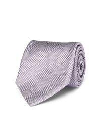 Polo Ralph Lauren - Purple Glen Plaid Silk Narrow Tie for Men - Lyst