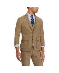 Polo Ralph Lauren Green Polo Soft Suit Jacket for men