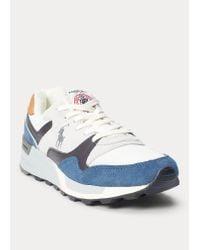 Ralph Lauren Sneaker Trackster 100 in Blue für Herren