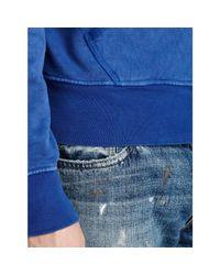 Polo Ralph Lauren - Blue East Hampton Fleece Hoodie for Men - Lyst