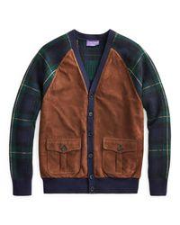 Ralph Lauren Purple Label Strickjacke aus Kaschmir in Blue für Herren